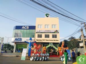 Khai trương Vietcombank chi nhánh Ba Tre
