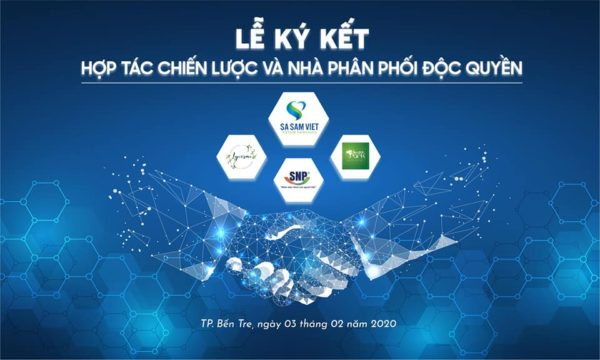 Lễ Ký Kết Hợp Tác Chiến Lược Và Nhà Phân Phối Độc Quyền Của Công ty Cổ phần Sa Sâm Việt