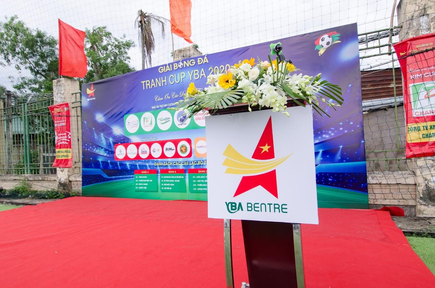 Tổ chức sự kiện Bến Tre – Giải bóng đá YBA CUP 2020