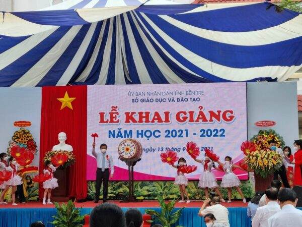 LỄ KHAI GIẢNG NĂM HỌC MỚI 2021 - 2022  TRƯỜNG TIỂU HỌC BẾN TRE